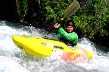 kayak en eaux vives