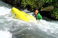 Séance de kayak