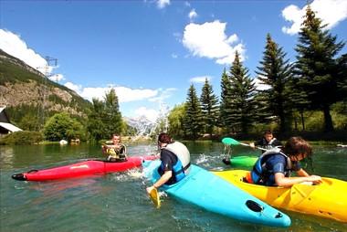 kayak à plusieurs