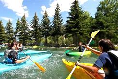 kayak rivières evasion
