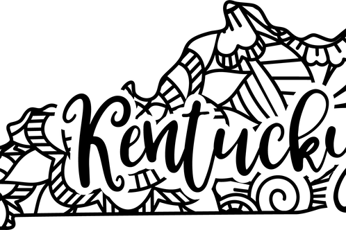 Kentucky State Mandala Sign