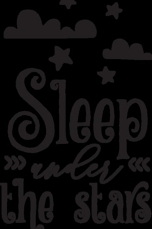 Outdoor Sign - Sleep Under The Stars