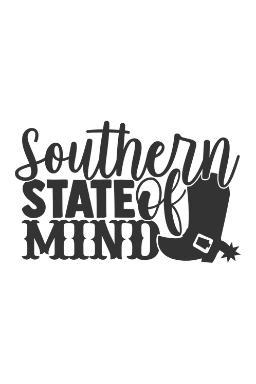Outdoor Sign - Southern State Of Mind