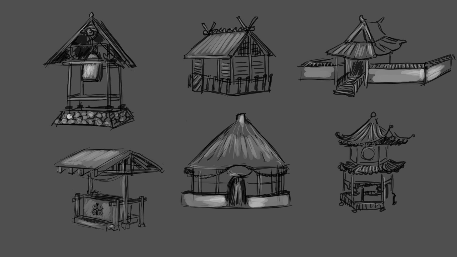 Japanese Village Concept