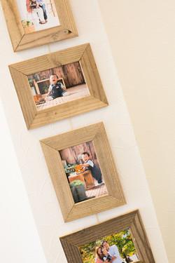 5連木製フレーム 写真十色