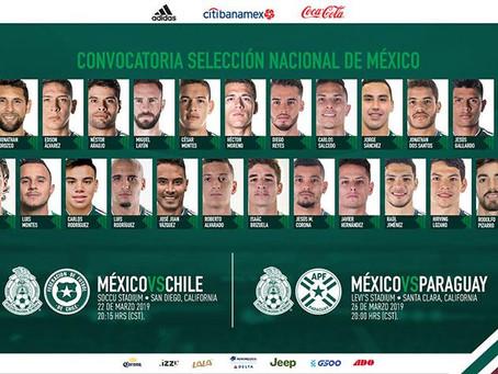 Queda definida la convocatoria de Gerardo Martino para la Selección Mexicana