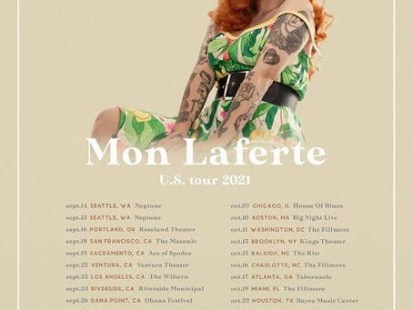 Mon Laferte anuncia lugares de gira por Estados Unidos