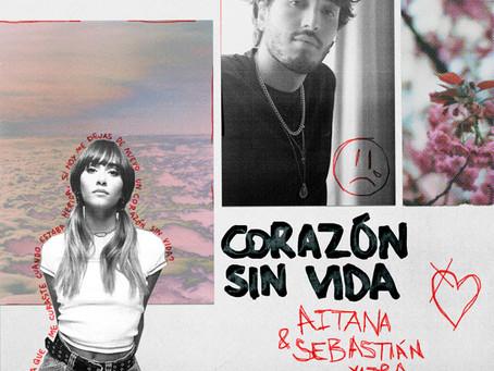 """Aitana y Sebastian Yatra anuncian el estreno global de """"Corazón sin vida"""""""