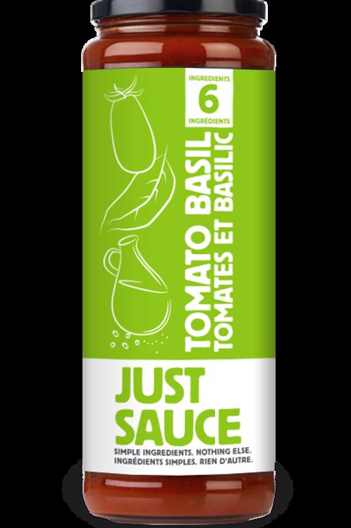 Just Sauce Tomato Basil