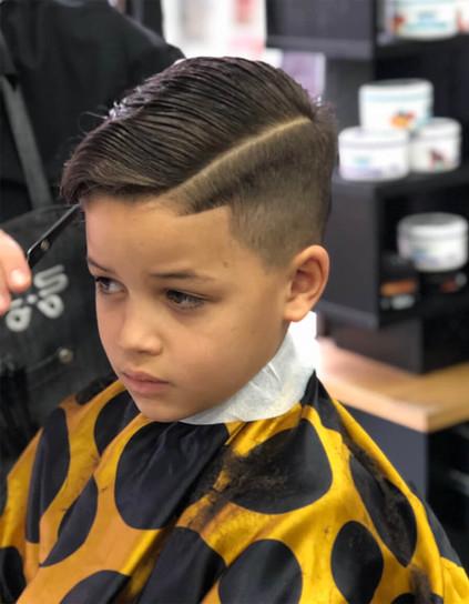 boy's hairstyle - mac's hair & beauty sa