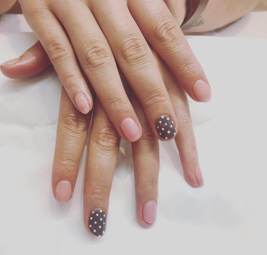 nail manicure for women  - mac's hair an