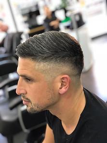 gentlemen's haircut mac's hair and beaut