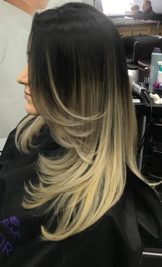 hair colouring  - mac's hair & beauty sa