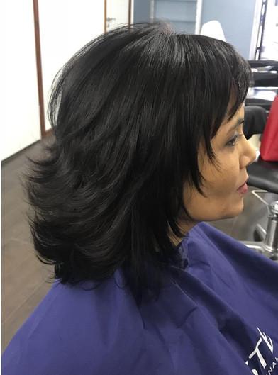 ladies hair styling - mac's hair & beaut