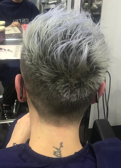 short hair colouring women - mac's hair