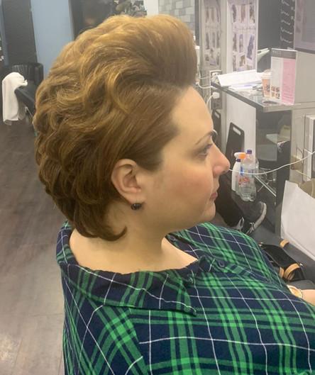 short hairstyle women - mac's hair & bea