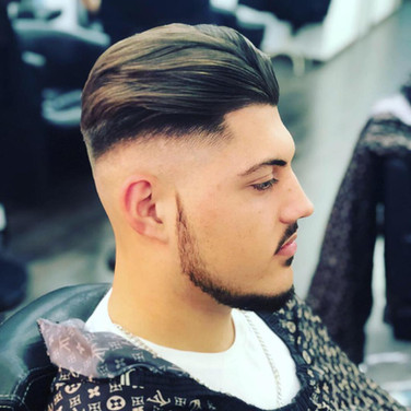 Mac's hair and beauty men's haircut.JPG