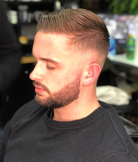 beard and hairstyle - mac's hair & beaut