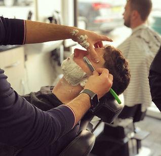 Mac's hair and beauty shaving gentlemen.
