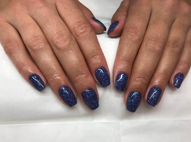 ladies manicure salon  - mac's hair and