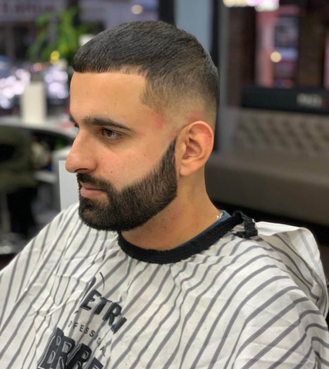 haircut and beard for men - mac's hair &