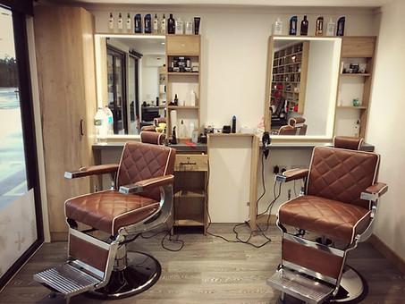 Mac's internal shot - 2 hair salon chair