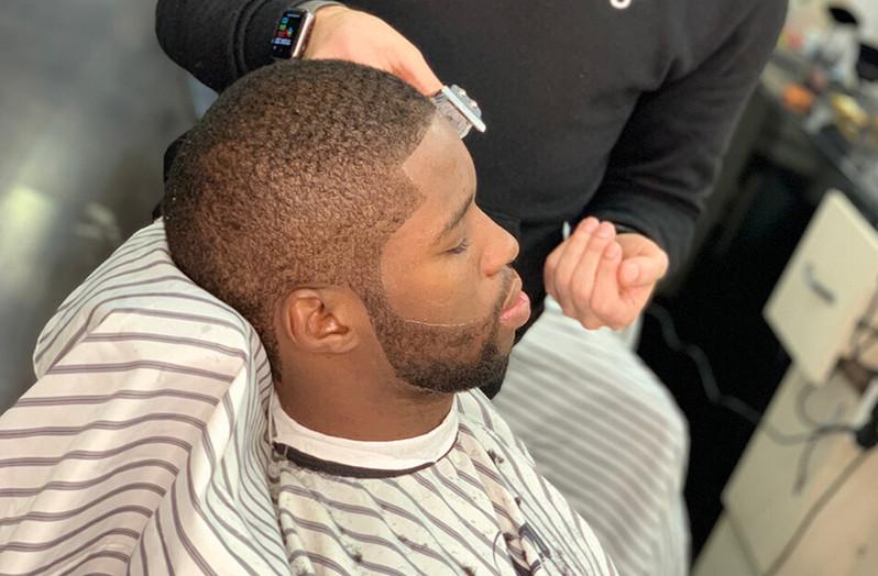hair trim short - mac's hair & beauty sa