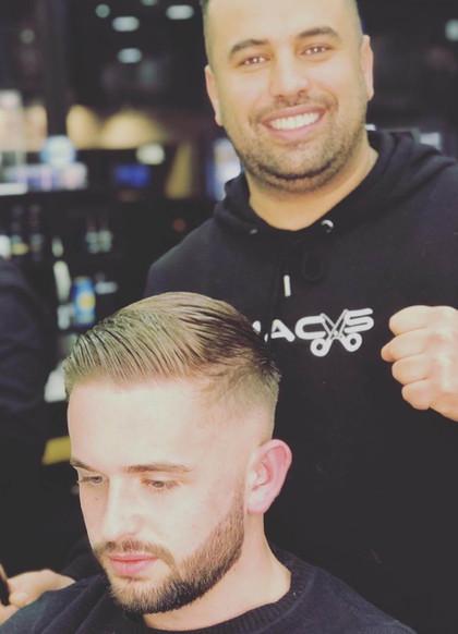 haircut and trim for men -  mac's hair &