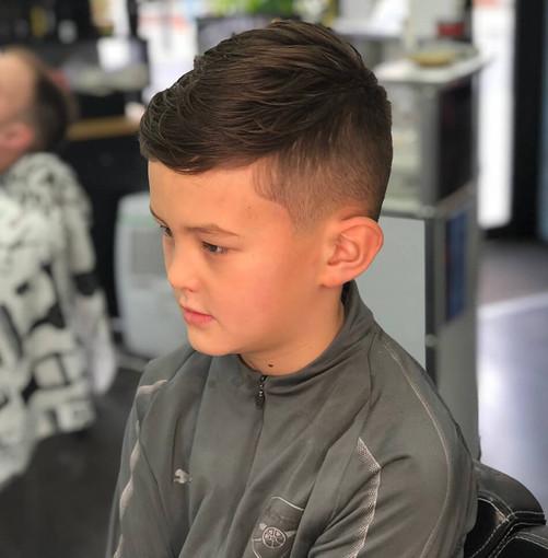 boy's haircut - mac's hair & beauty salo