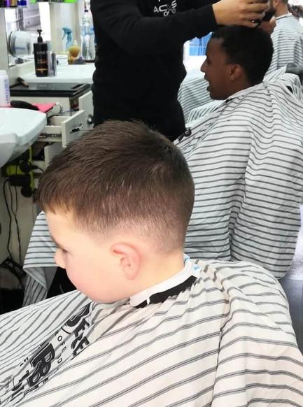 haircut for boy's - mac's hair & beauty