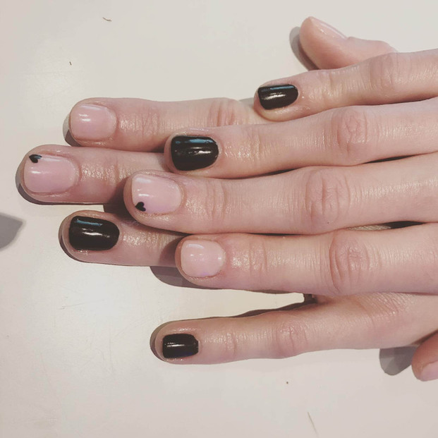 women's manicure nails  - mac's hair and