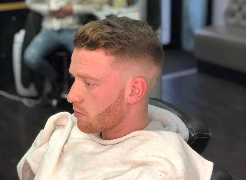 men's haircut -  mac's hair & beauty sal