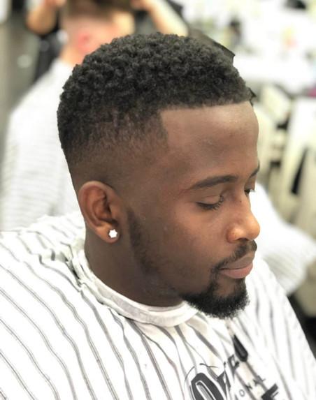 hair trim beard cut at mac's hair and be
