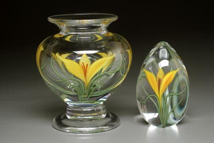 Crocus Vase and Egg, Clear Cased CFweb.jpg