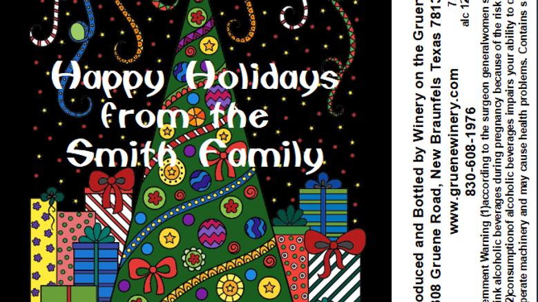 Christmas-Cartoon Tree