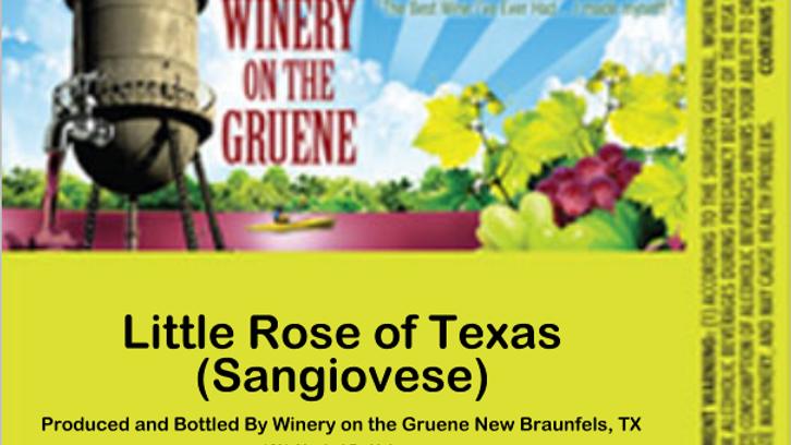 Little Rose of Texas (Sangiovese)