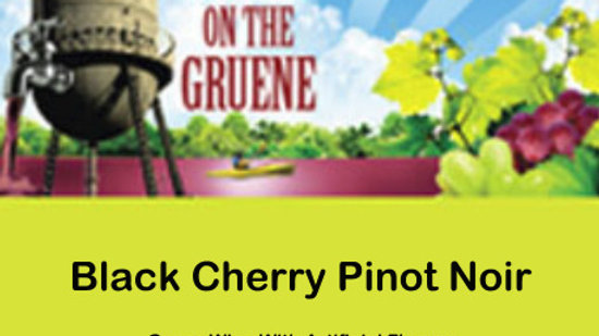 Black Cherry Pinot Noir