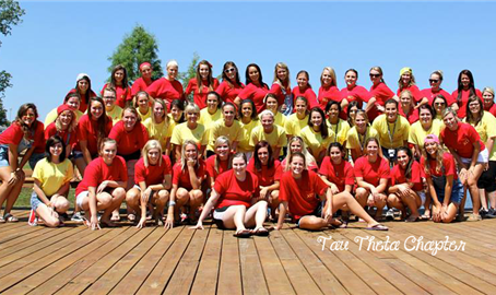 Chi Omega at William Woods University wins Chapter of Excellence Award