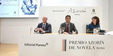 Presentación Premio Azorín de novela