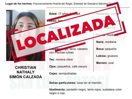 Localizada en Jalisco Christian Nataly Simón Calzada: FGE