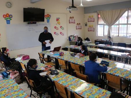 Detectados 42 contagios de Covid en escuelas, tras regreso a clases presenciales
