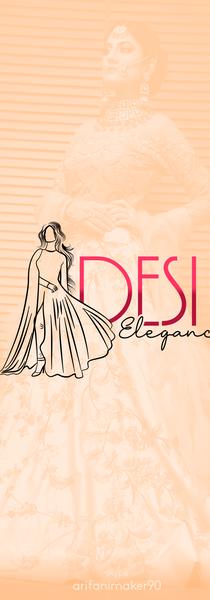 Desi elegance - logo design