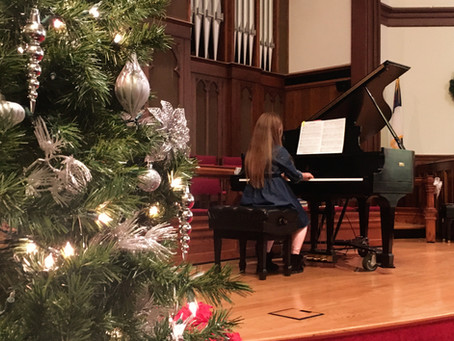 December Recitals: What Do I Do?