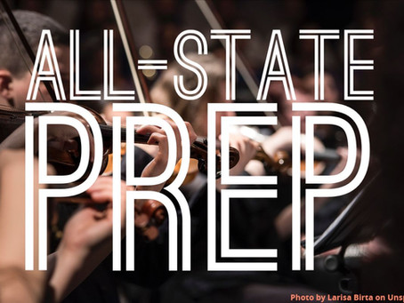 2019 All-State Orchestra Prep