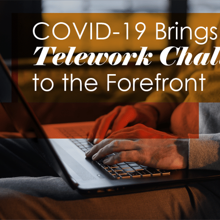 Enabling Telework during COVID19 By Larry Grate