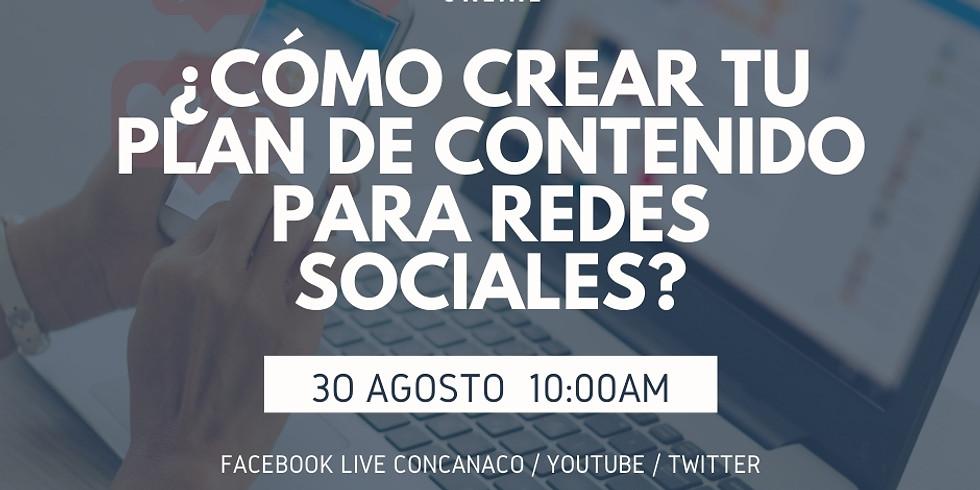 ¿Como crear tu plan de contenido para redes sociales?