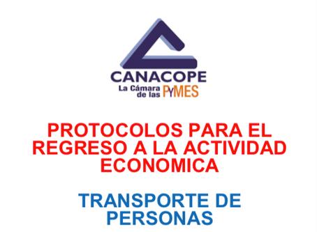 PROTOCOLO DE REGRESO DE TRANSPORTE DE PERSONAS