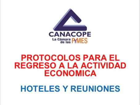 PROTOCOLO DE REGRESO PARA HOTELES Y REUNIONES.