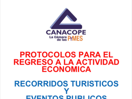 PROTOCOLO DE REGRESO PARA RECORRIDOS TURISTICOS Y EVENTOS PUBLICOS