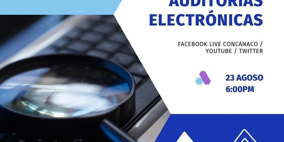 Auditorías electrónicas.